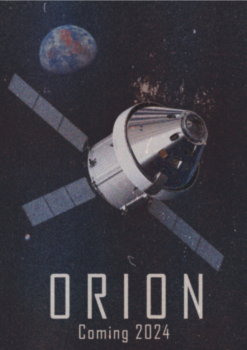 retro orion plakat