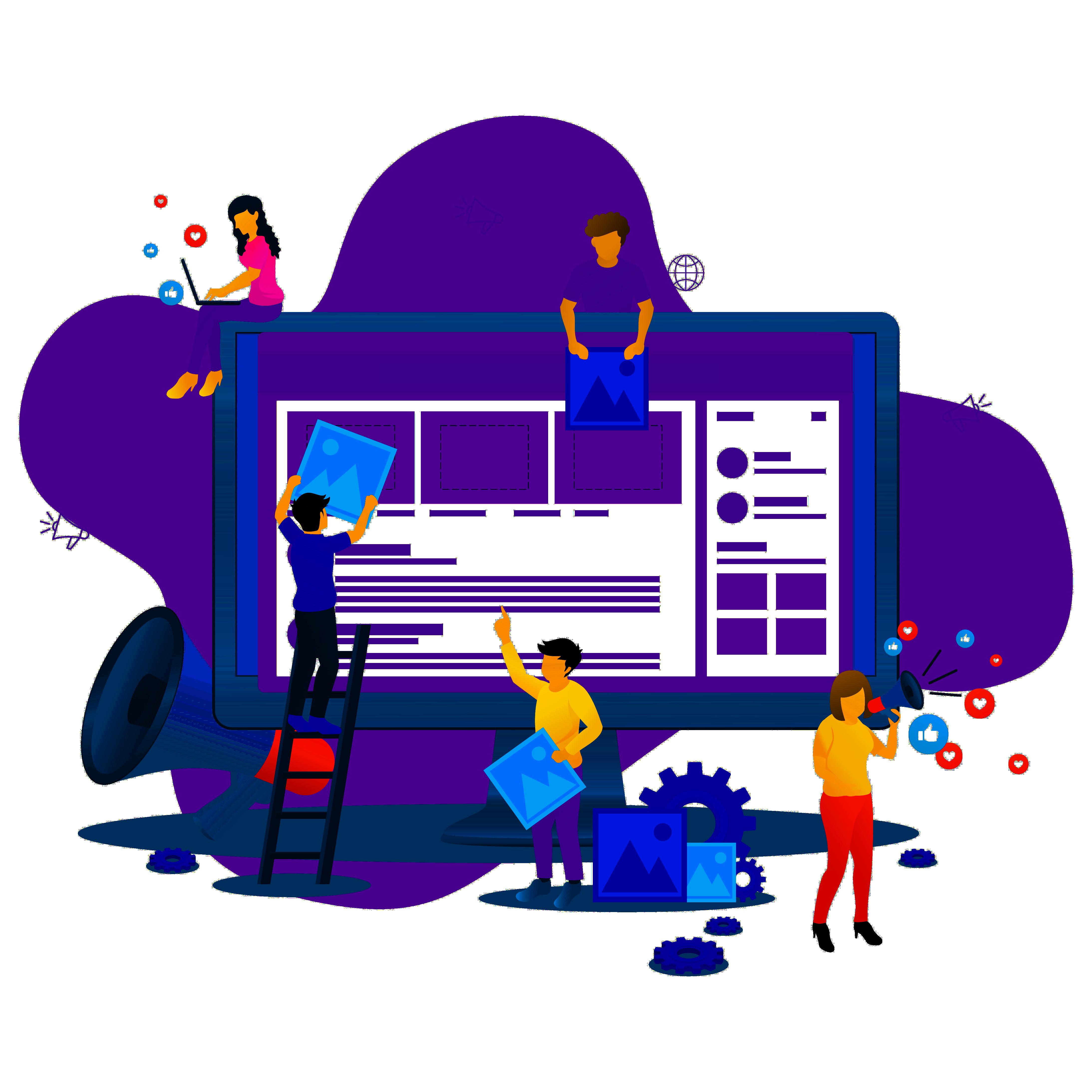 webutvikling nettside